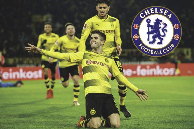 El Chelsea adquiere a Pulisic por 73 mdd; jugará cedido en el Dortmund