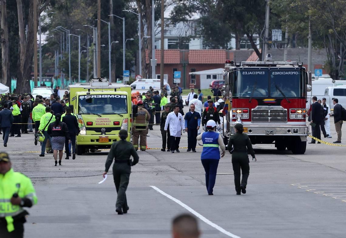 Se eleva a 21 cifra de muertos tras atentado en Bogotá