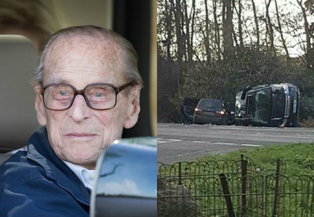 El príncipe Felipe se recupera tras accidente