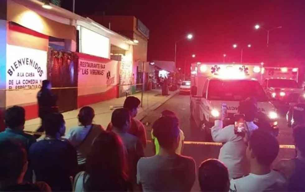 Caen sospechosos del multihomicidio en bar de Playa del Carmen