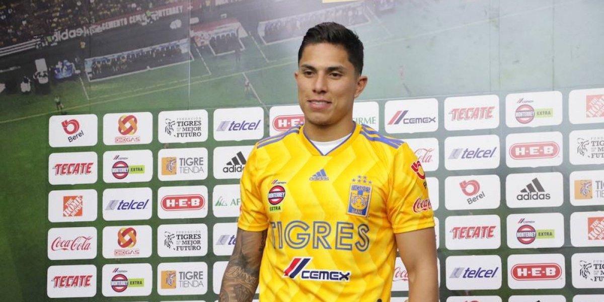 Salcedo ya entrena con Tigres