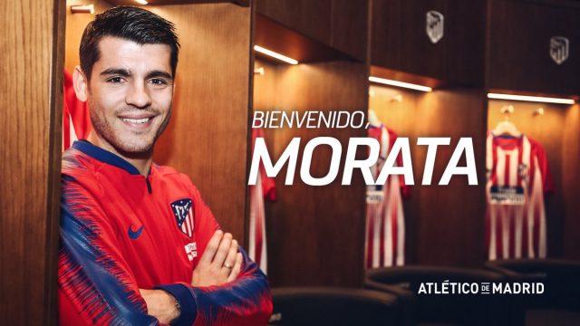 Álvaro Morata nuevo jugador Colchonero