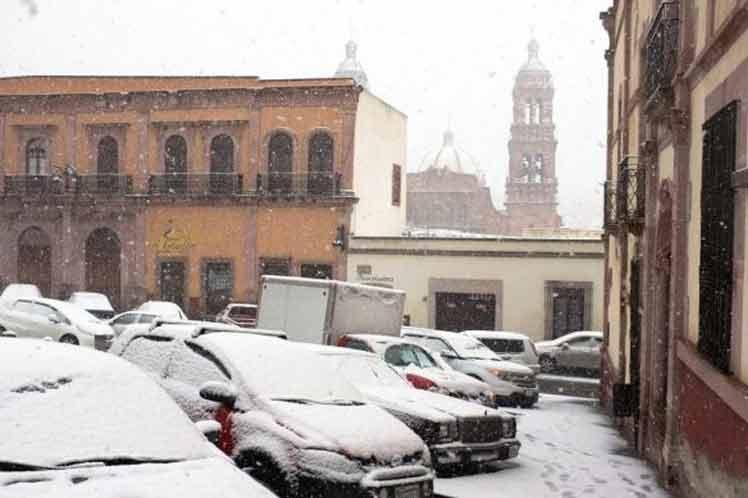 Persisten bajas temperaturas en gran parte del territorio nacional