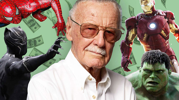 Homenaje en Hollywood el 30 de enero a Stan Lee