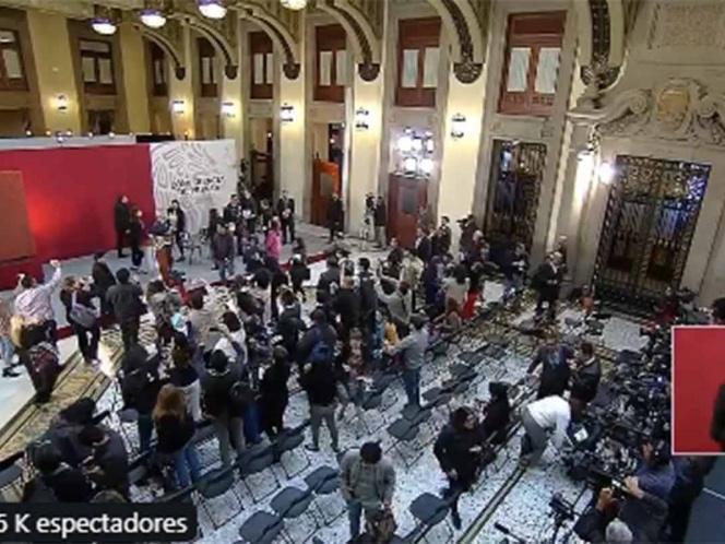 Desalojan el  Palacio Nacional por alarma sísmica