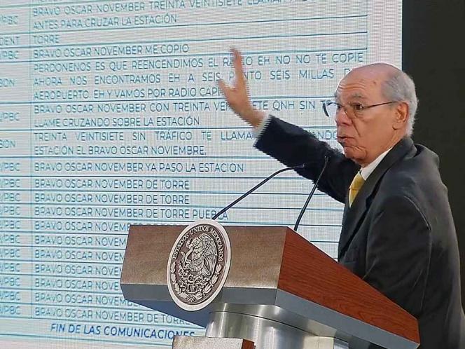 SCT da a conocer audios sobre caída de helicóptero en Puebla