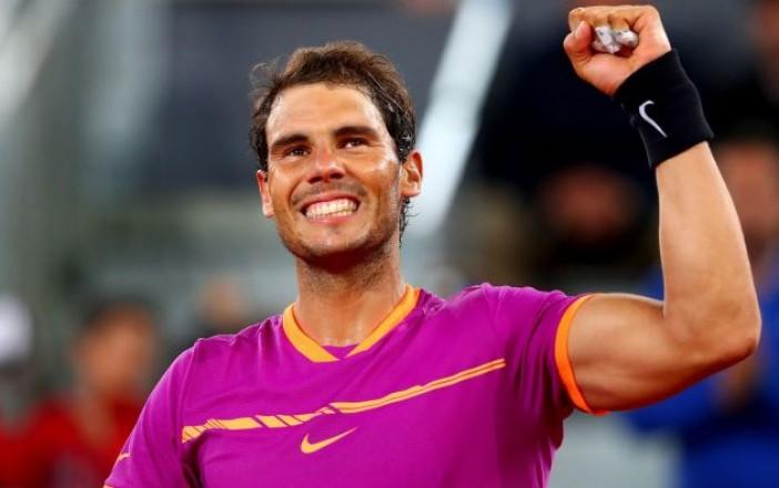 Rafael Nadal llega a  Acapulco