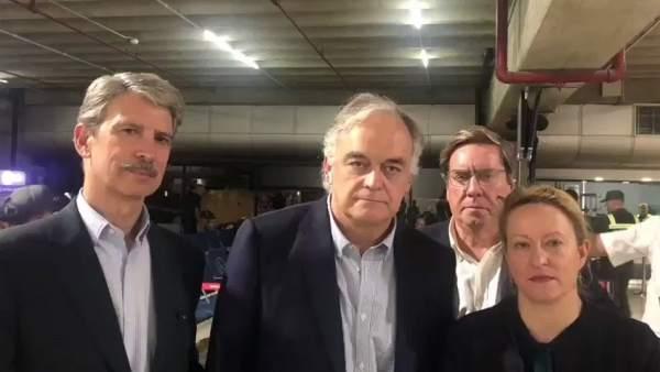 Venezuela expulsa a diputados europeos invitados por Guaidó