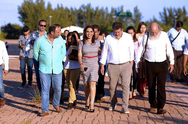 Apoya Fonatur a Mara Lezama en el rescate de Tajamar