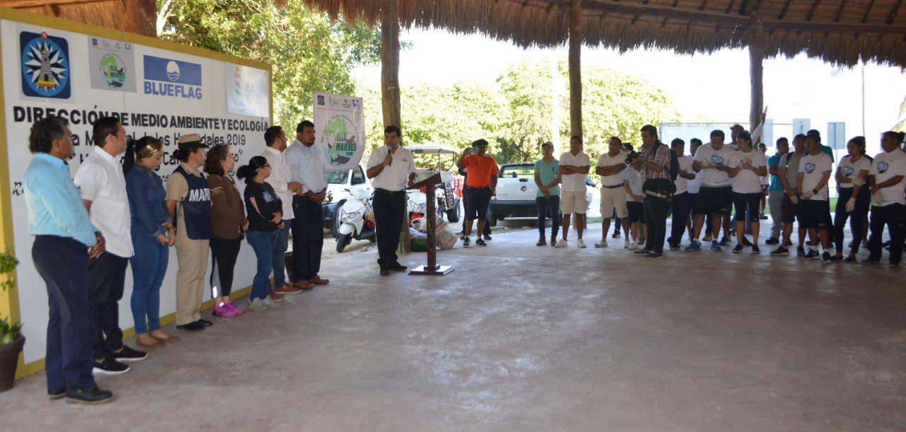 Celebran el Día Mundial de los Humedales en Isla Mujeres