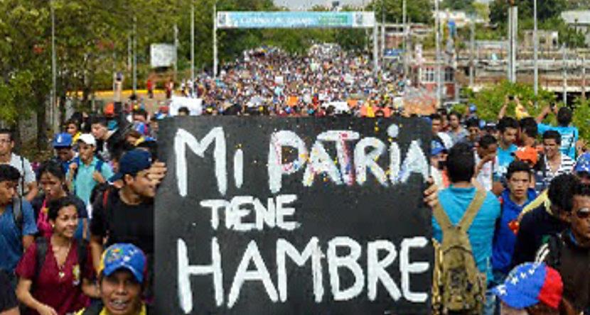 Crisis política agrava la miseria en Venezuela