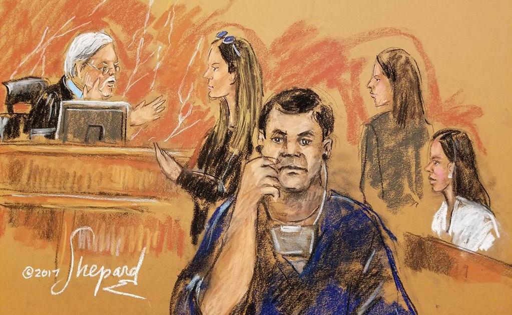 Por riesgo de asesinato, recomiendan a jurados del 'Chapo' mantenerse en el anonimato