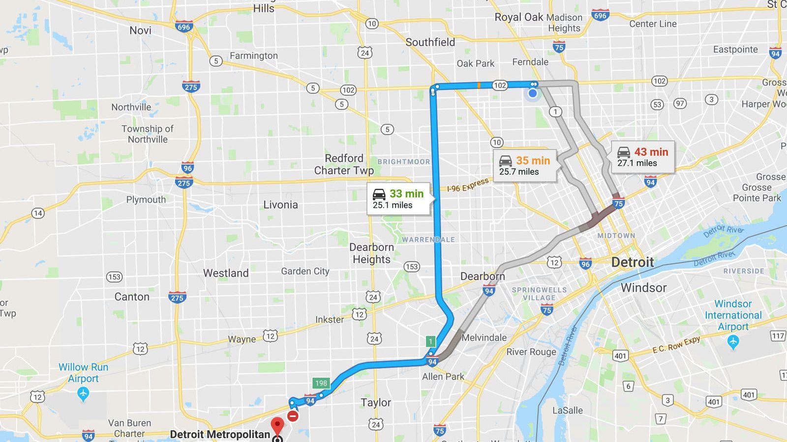 Conductor cayó a río por seguir las instrucciones de Google Maps