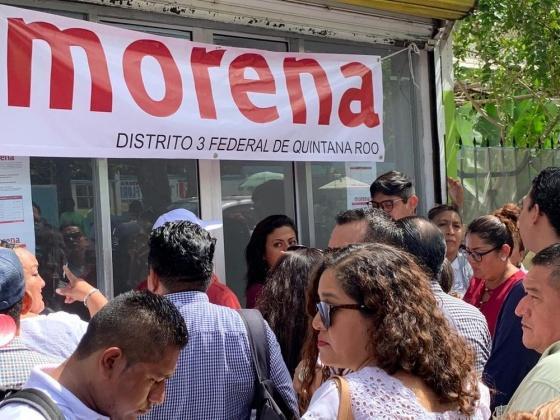 Morena presenta a 31 aspirantes a diputación local
