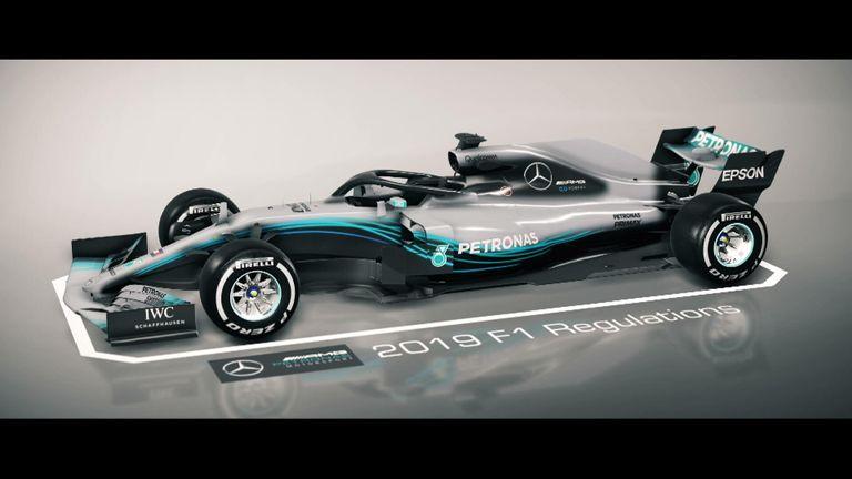 Mercedes presenta un moderno auto