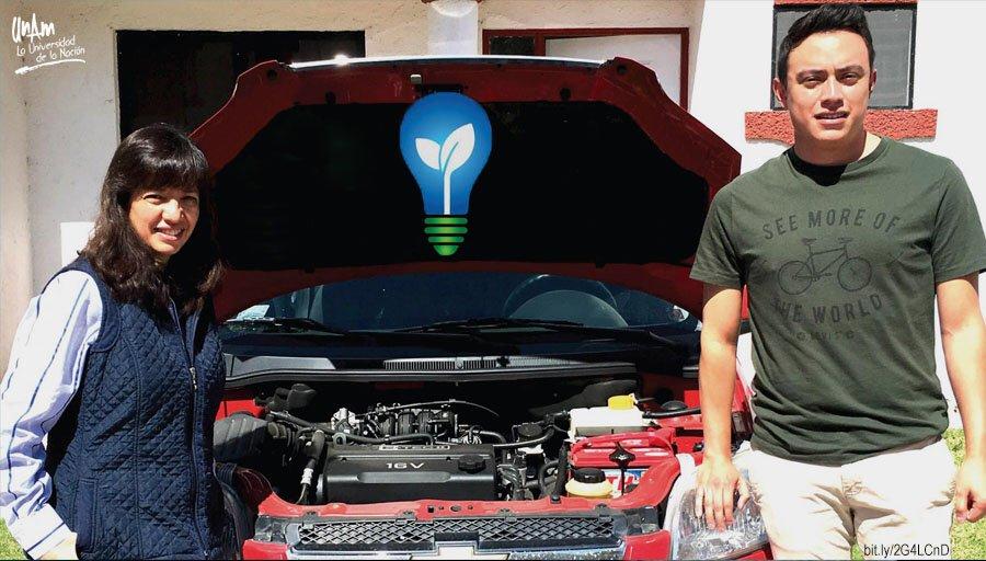 Estudiante de la UNAM crea dispositivo que ahorra hasta 12% de gasolina