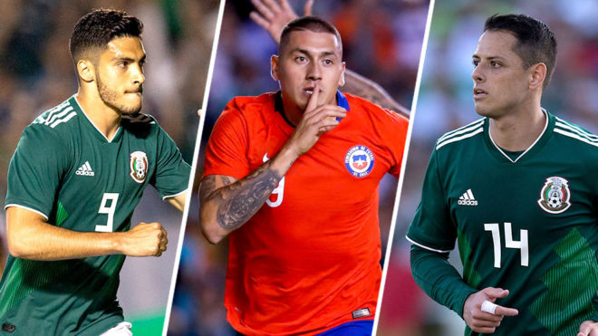 México y Chile chocan hoy