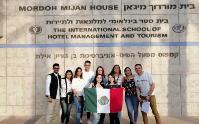 La SRE apoya a estudiantes mexicanos retenidos en Israel