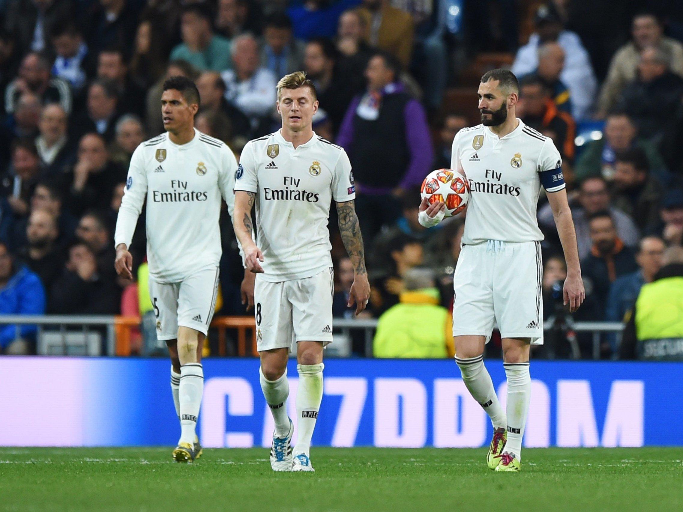 Real Madrid descalificado