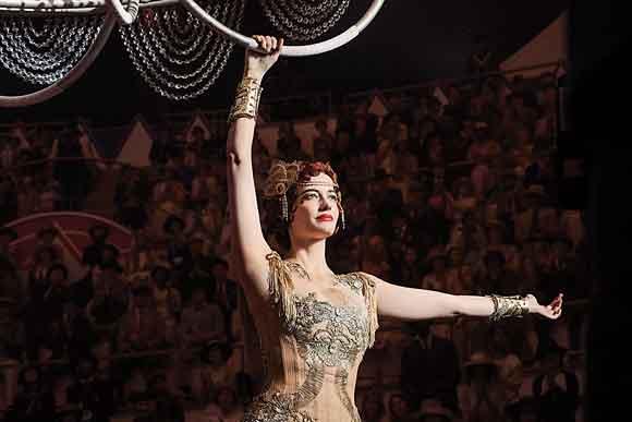 Eva Green logró vencer su miedo a las alturas en Dumbo