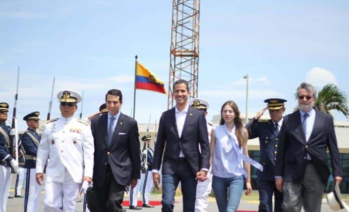 Guaidó regresa a Venezuela