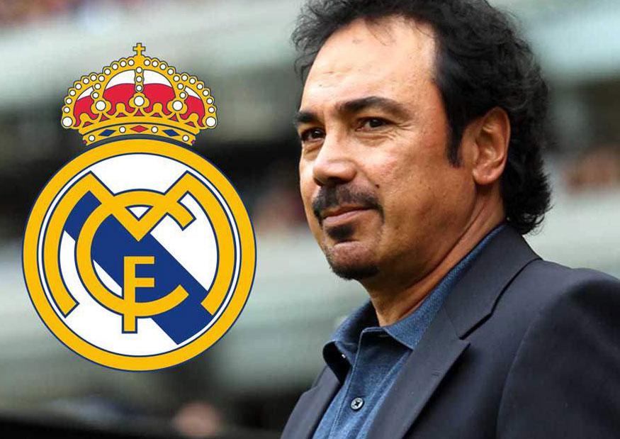 Hugo Sánchez espera su turno en el Madrid