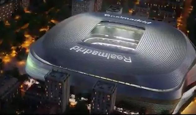 Presentan el nuevo Santiago Bernabéu