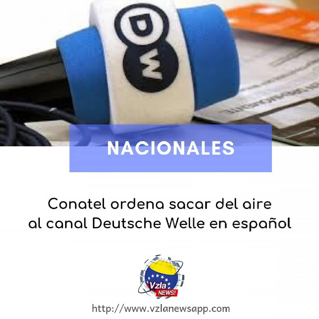 Venezuela bloquea señal de televisora alemana Deutsche Welle