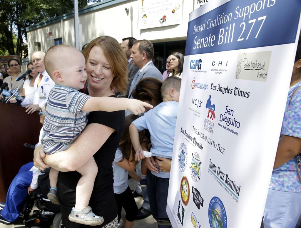 Ponen en cuarentena a más de mil personas en California por sarampión