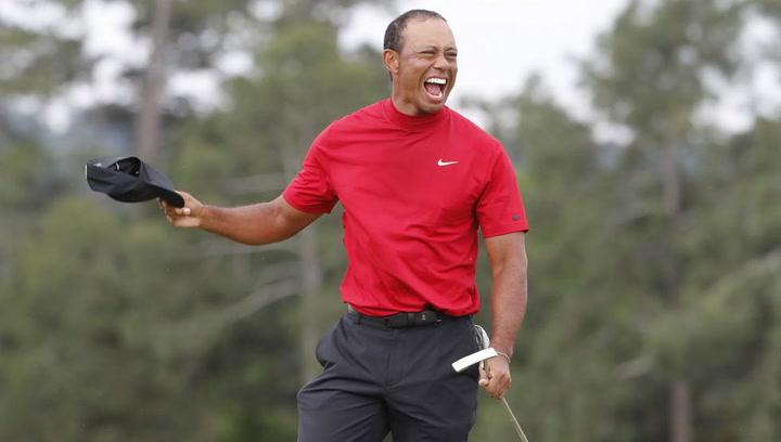 Tiger Woods gana el Masters de Augusta después de 11 años