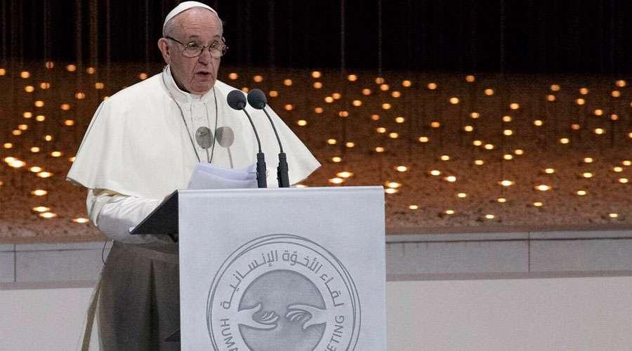 El Papa critica a Europa y EU por venta de armas
