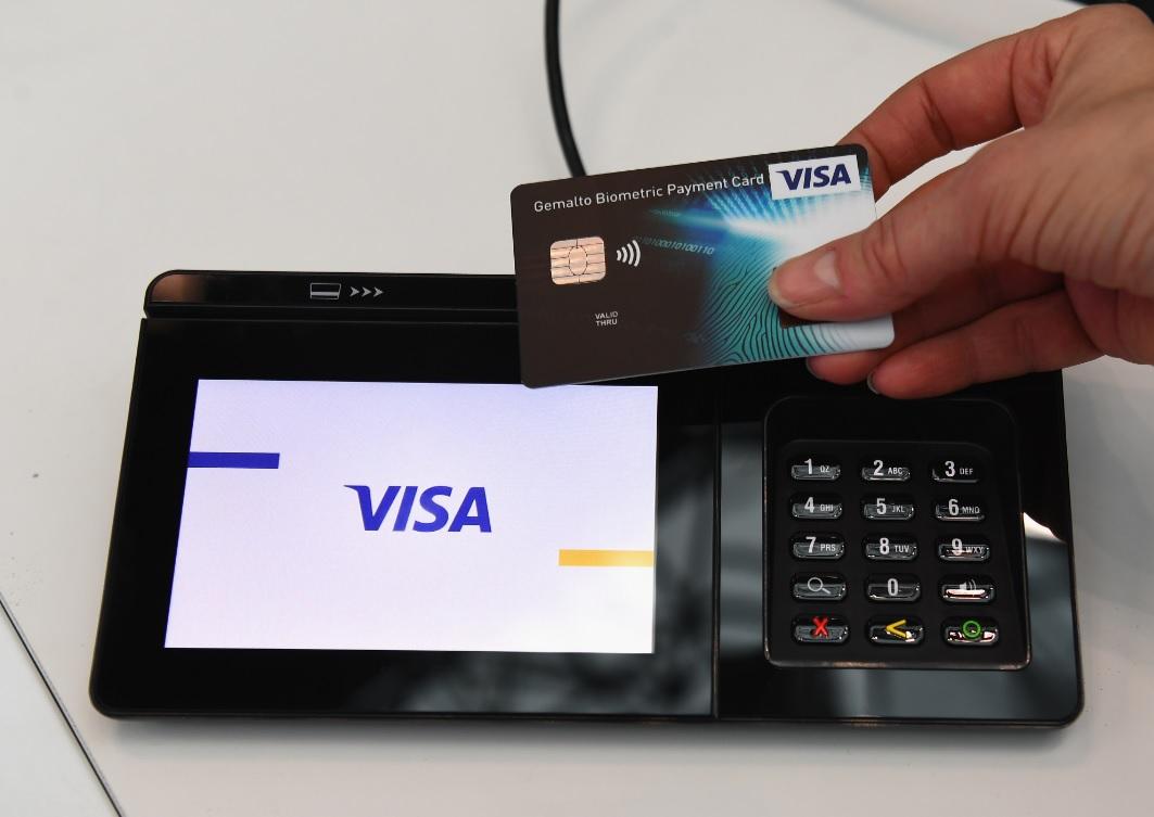 Visa lanzan tarjeta de débito que requiere huella en vez de pin