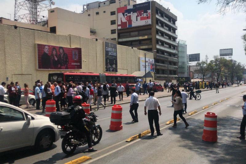 Sismo de 5.5, con epicentro en Oaxaca, se siente en la CDMX