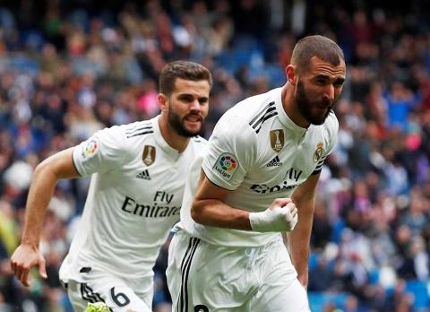 Real Madrid derrota a el Eibar