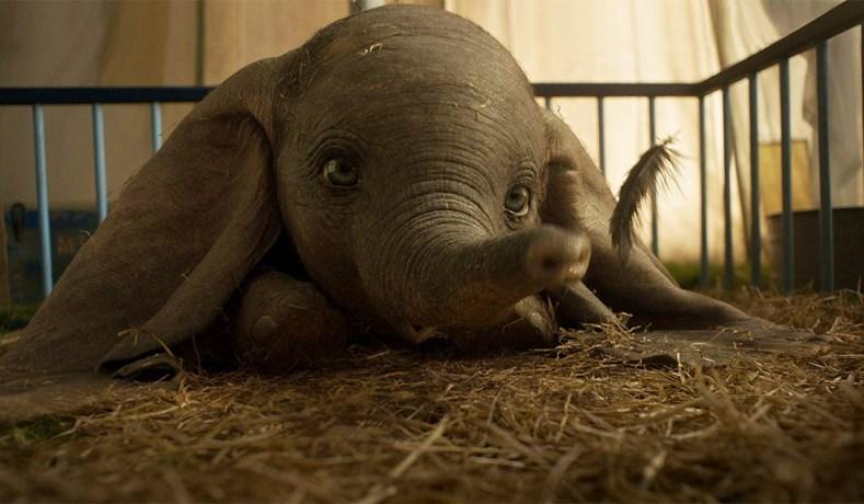 'Dumbo' en primer lugar de taquilla, pero con poca fuerza