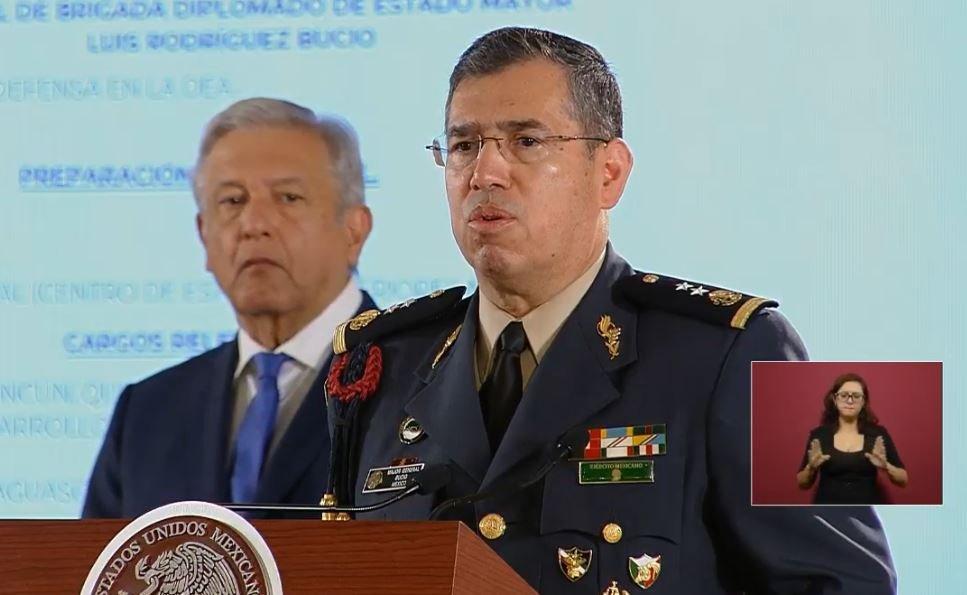 Luis Rodríguez Bucio comandante de la Guardia Nacional