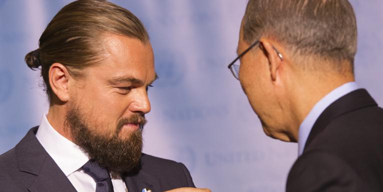 DiCaprio produciendo buscará nominación al Oscar con Sea of Shadows