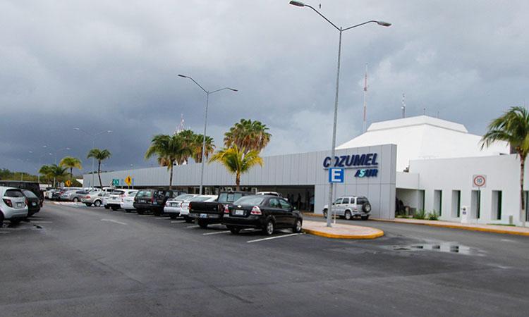 Llegarán 46 vuelos al Aeropuerto Internacional de Cozumel esta semana