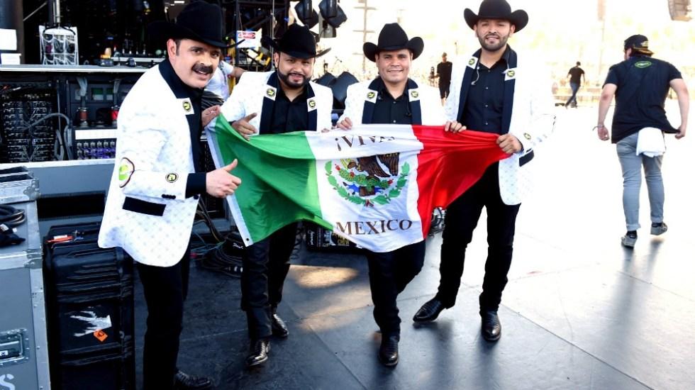 La Chona de  Los Tucanes de Tijuana prenden Coachella