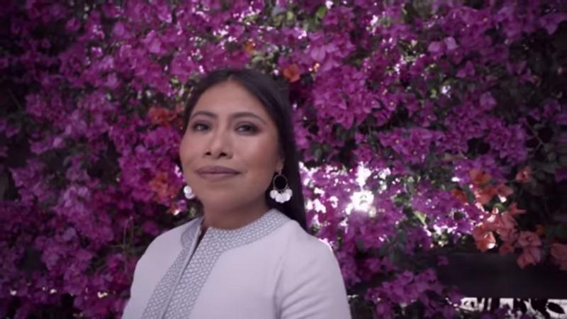 Yalitza Aparicio protagoniza video para el Huawei P30