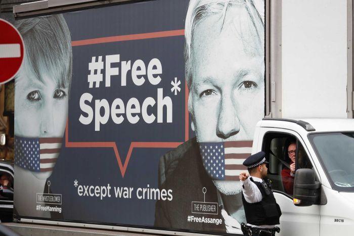 Assange dice a tribunal que no quiere extradición a EU