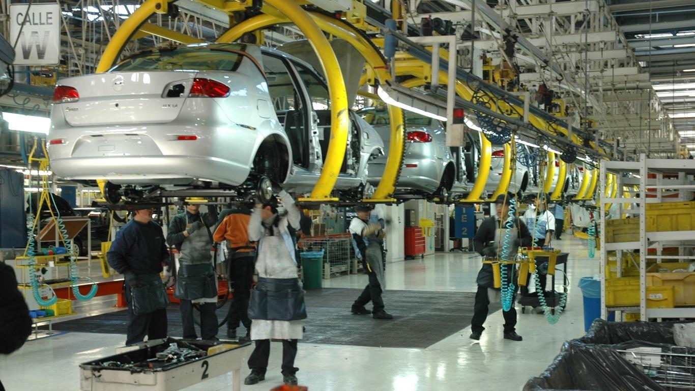 Actividad industrial registra en marzo su mayor caída en 5 meses