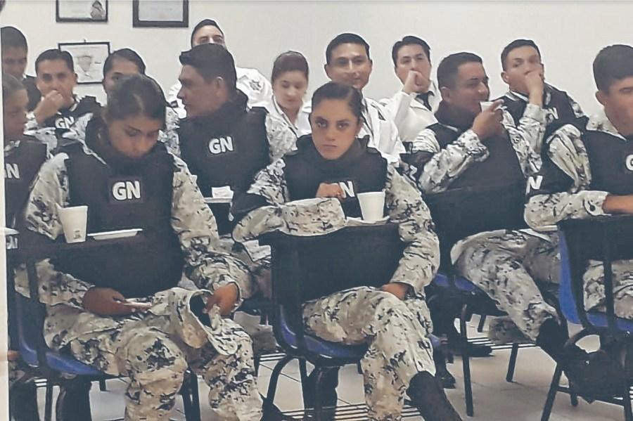 Queda la Guardia Nacional con mando civil