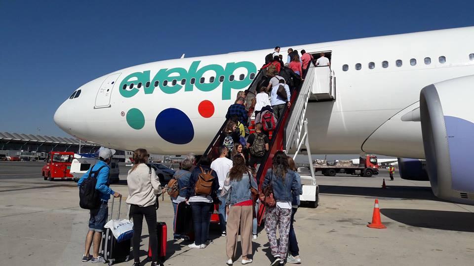 Evelop inicia vuelos directos entre Cancún y Madrid