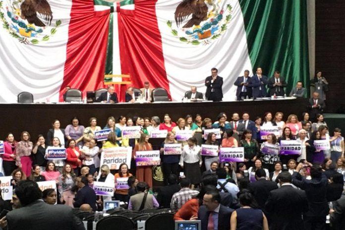 Diputados aprueban reforma sobre paridad de género