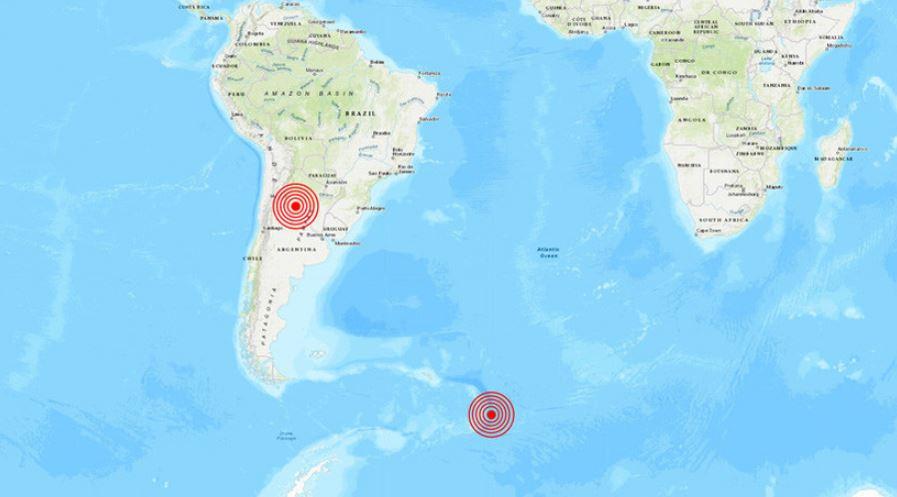 Sismo de magnitud 5.5 con epicentro en Argentina llega hasta Chile el movimiento