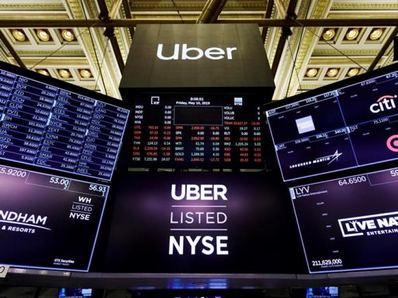 Triste debut de Uber en la bolsa