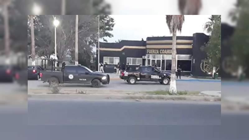 Atacan instalaciones de Fuerza Coahuila en Frontera
