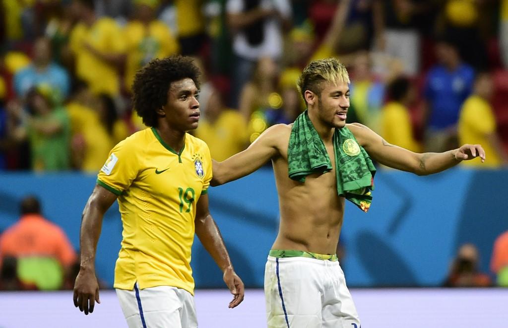 Brasil convoca a Willian como sustituto de Neymar
