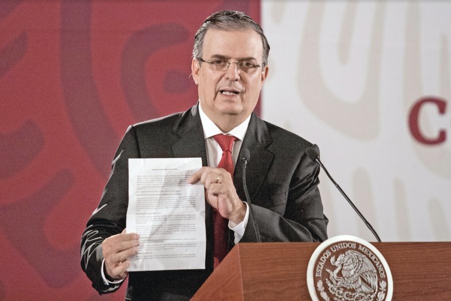Ebrard garantiza cumplimiento de acuerdo con EU en migración